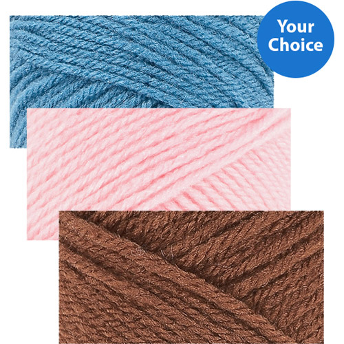 Your Choice 3-Pack Ever Soft Solid Yarn Value Bundle
