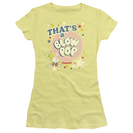 Bandana Pop - Trevco TOOTSIE ROLL THATS A BLOW POP Banana Juniors Female T-Shirt