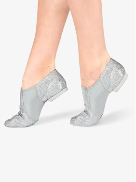 Girls Glitter Jazz Shoes