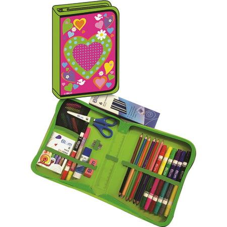Blum, BUM26011669, Hearts K-4 School Supply Kit, 1 Kit, Bright Assorted - School Kit