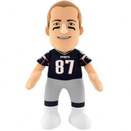 Nfl New England Patriots Rob Gronkowski 10  Plush Figure