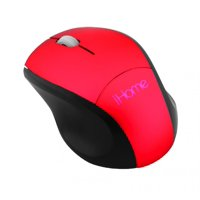 Lifeworks Technology Group 215747 Wireless Travel Mouse, Red