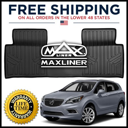 Maxliner 2nd Row All Weather Floor Mat Liner Black 2016