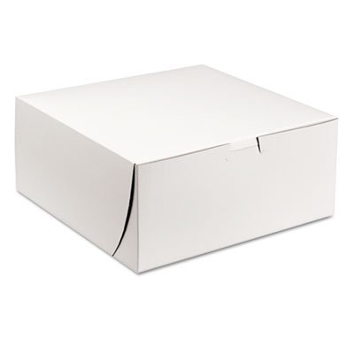 SCT White Tuck-Top Bakery Boxes, 200 count