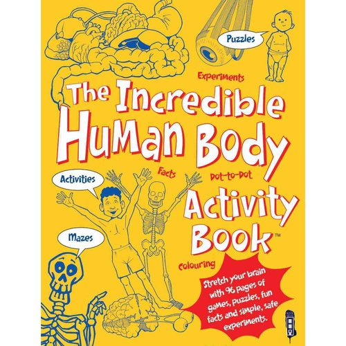 The Incredible Human Body Activity Book