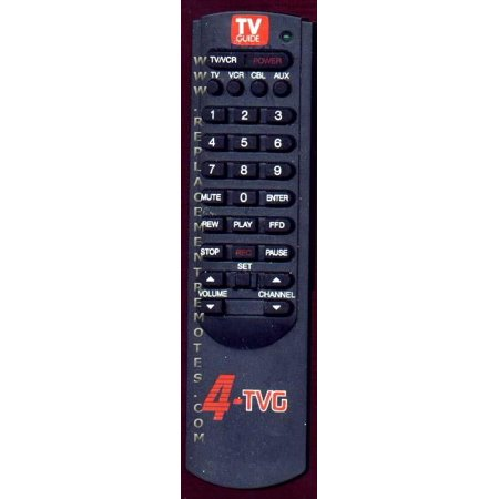 - TV GUIDE 4TVG (p/n: 4TVG)  Remote Control (refurbished)