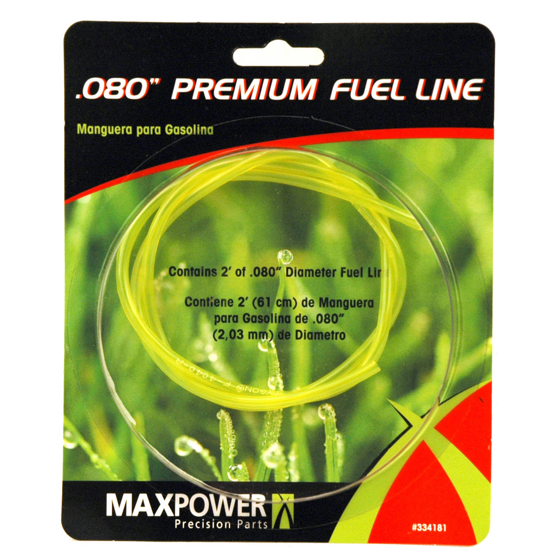 "Maxpower 334181 .80"" x 2' Fuel Line"