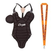 Champion Sports Bundle: Youth Chest Protector Black with 1 Performall Lanyard P120LBK-1P