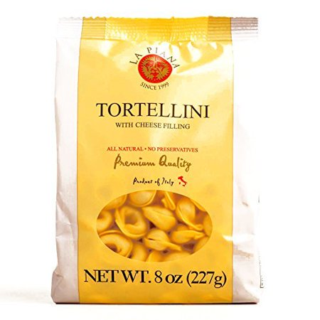 La Piana Tortellini with Cheese Filling 8 oz each (4 Items Per Order)