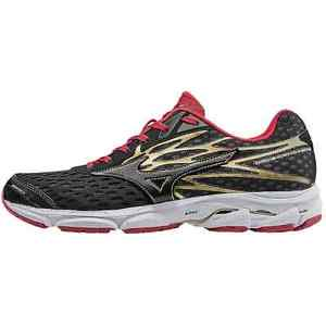 Mizuno Mens Wave Catalyst 2 Running Shoes Black Red Size 12 5