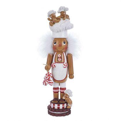 Kurt Adler 15-Inch Hollywood Gingerbread Chef