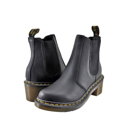 Dr. Martens Cadence Women's Shoes Chelsea Boot 15283001 Black Greasy - Dr Martens On Girls