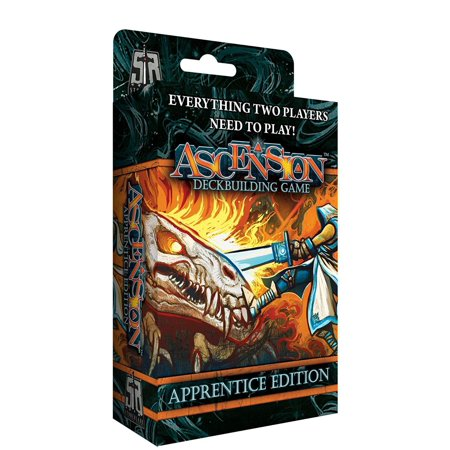 Ascension: Apprentice Edition Game, Experience all the strategy and tactics of the award winning deckbuilding game in this 2-player edition By Stoneblade Entertainment