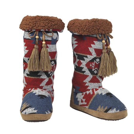 Blazin Roxx 5723697-XL Ladies Slipper - Red & Blue - Extra Large - image 1 of 1