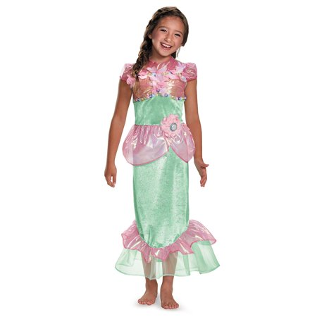 Girls Storybook Mermaid Halloween Costume](Toddler Mermaid Halloween Costume)