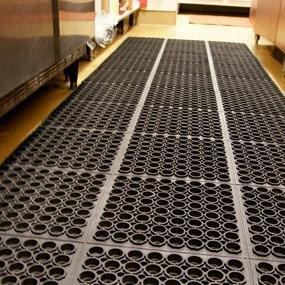 Zimtown Black Indoor Commercial Industrial Durable Anti-Fatigue Floor Mat 36