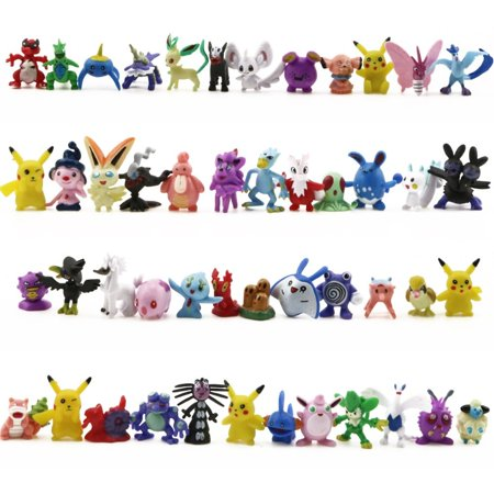 144PCS a Set Pokemon Toy Mini Action Figures Children's Doll Go Monster Toys Gift - image 4 of 6