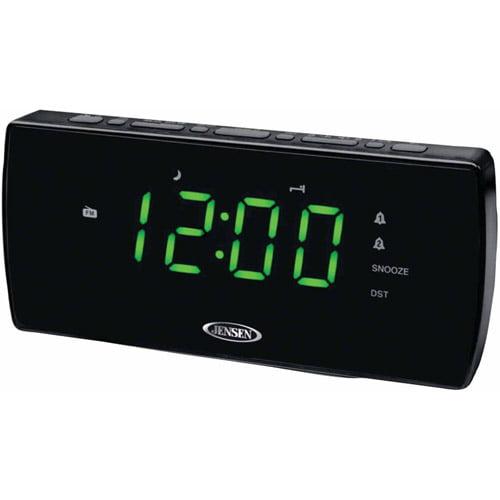 Jensen Jcr-230 AM FM Dual Alarm Clock Radio by Jensen