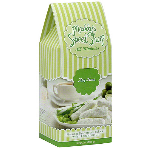 Maddy's Sweet Shop Lil' Maddies Key Lime Cookies, 7 oz (Pack of 6)