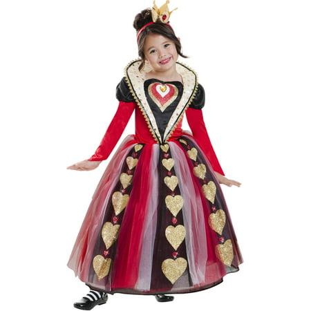 Queen of Hearts Child Halloween - Queen Of Hearts Costume Child