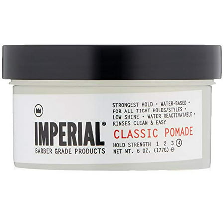 Imperial Saddle - Imperial Barber Grade Products Classic Pomade, 6.0 Oz