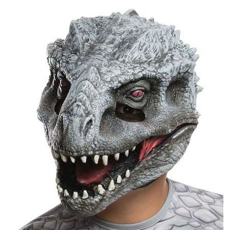 Jurassic World: Kids Indominus Rex 3/4 Mask, One Size Halloween Accessory](Painted Lion Face For Halloween)