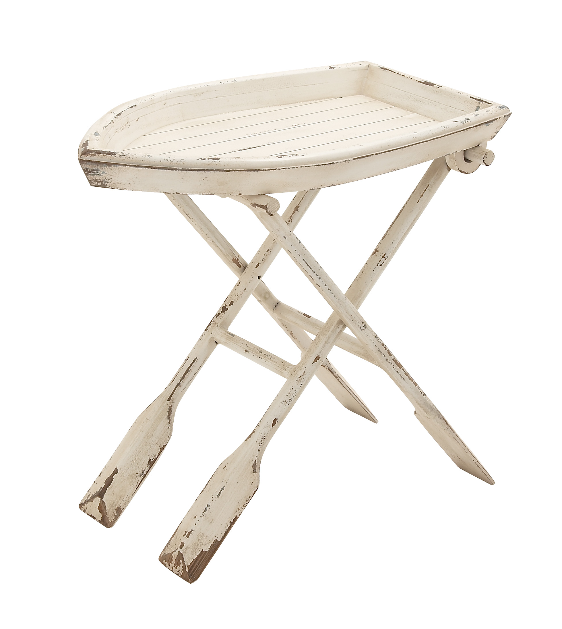 Simply Ingenious Wood Folding Table