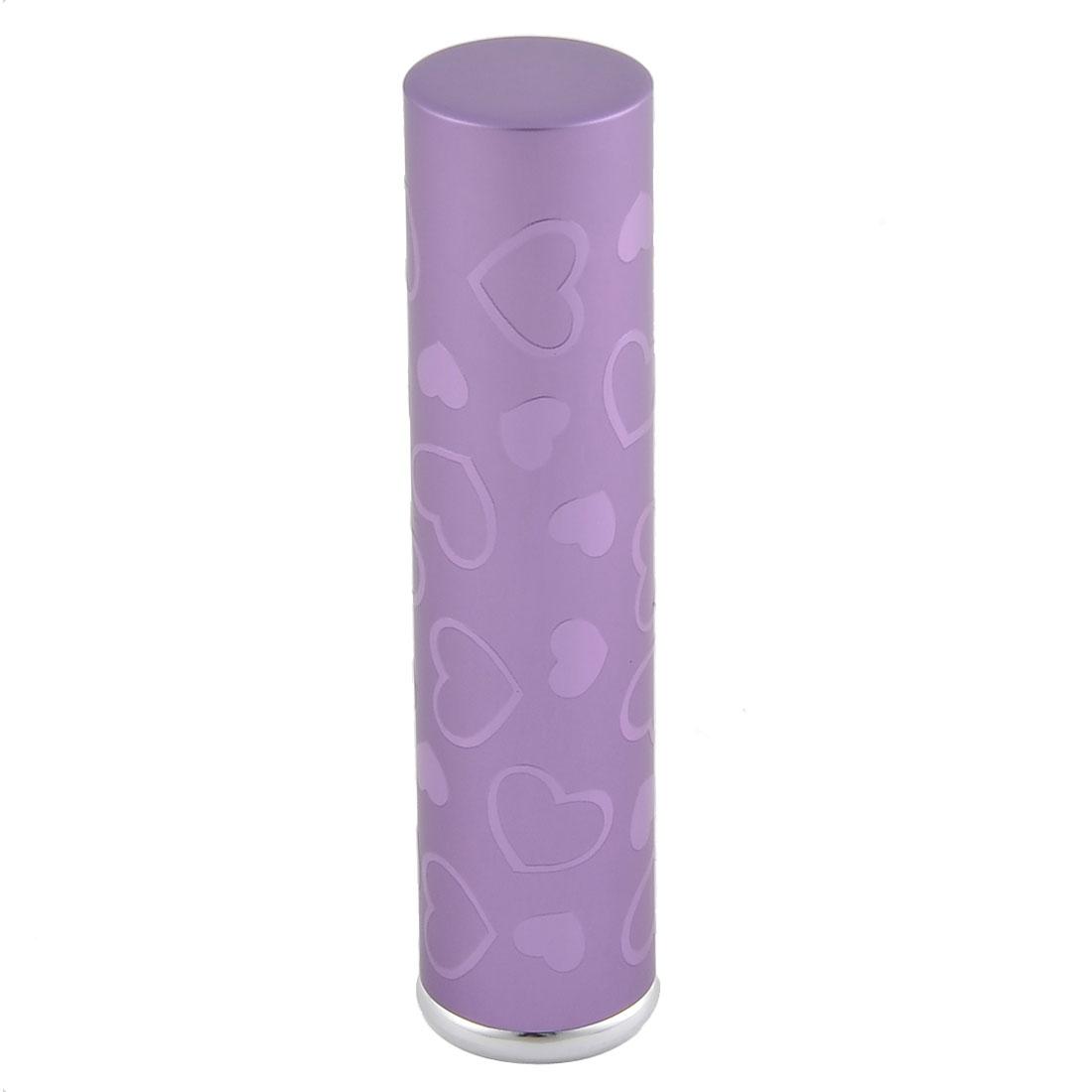 7mL Travel Portable Love Heart Mini Refillable Perfume Spray Bottle Purple - image 3 de 3