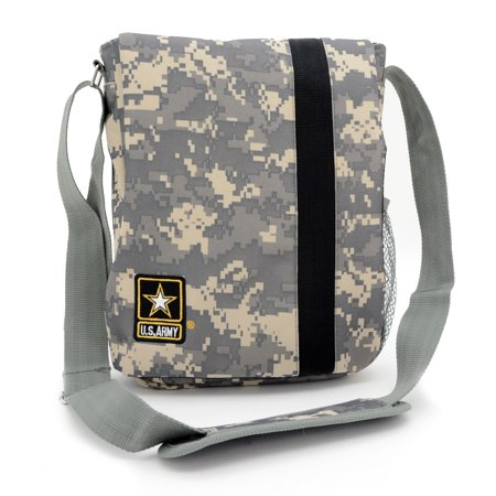 Official Licensed U.S. Army Camo iPad, Tablet Carrier Messenger Shoulder