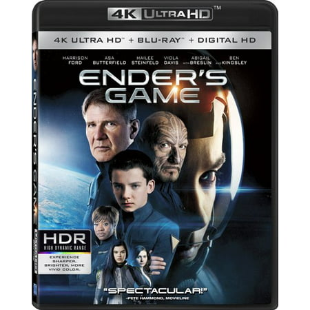 Enders Game (4K Ultra HD + Blu-ray + Digital HD)