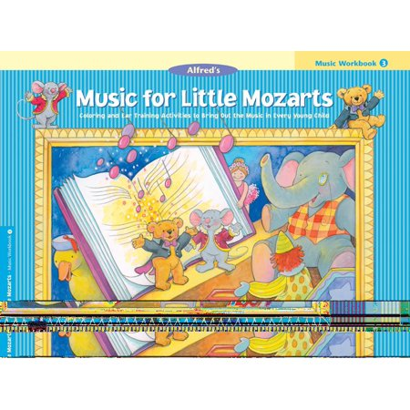 Music Halloween Activities (Music for Little Mozarts: Music for Little Mozarts Music Workbook, Bk 3: Coloring and Ear Training Activities to Bring Out the Music in Every Young Child)