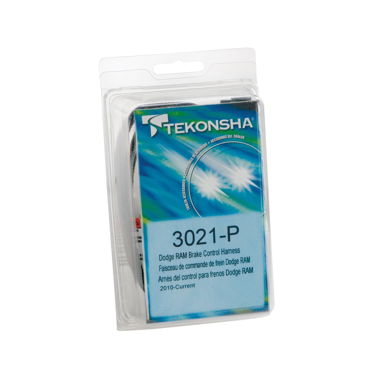 Tekonsha 3021-P Trailer Brake Control Wiring Harness - 2 Plugs ...