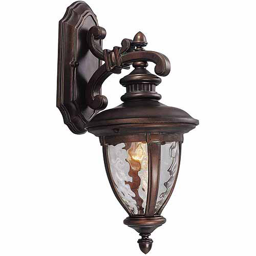 "Design House 508317 Tolland Outdoor Downlight, 8.5"" x 18.5"", Patina Bronze Finish"