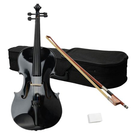 Ktaxon 15 inch 16 inch Brown Basswood School Student Acoustic Viola with Case Rosin
