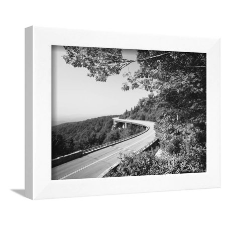 Linn Cove Viaduct, Blue Ridge Parkway National Park, North Carolina, USA Framed Print Wall Art By Adam Jones