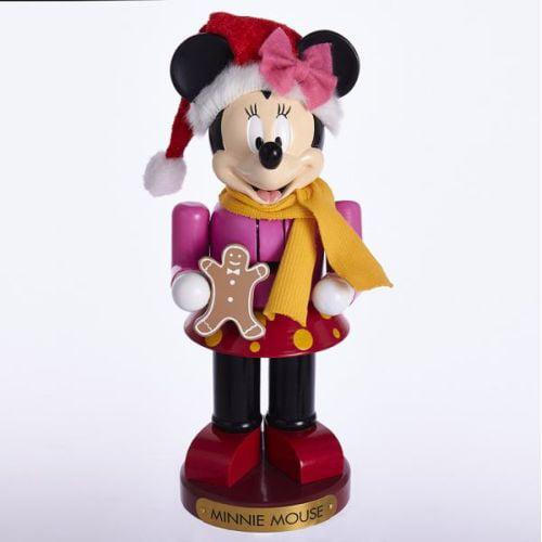 "Kurt Adler 10"" Minnie With Gingrbrd Doll Nutcrackr by Kurt Adler"