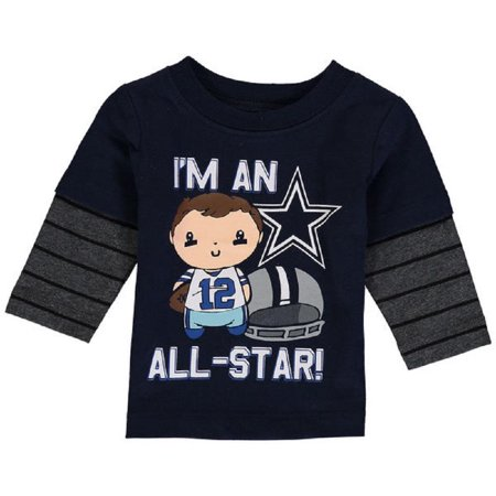 386fb363a Dallas Cowboys Merchandise - Dallas Cowboys Infants Frank Long ...