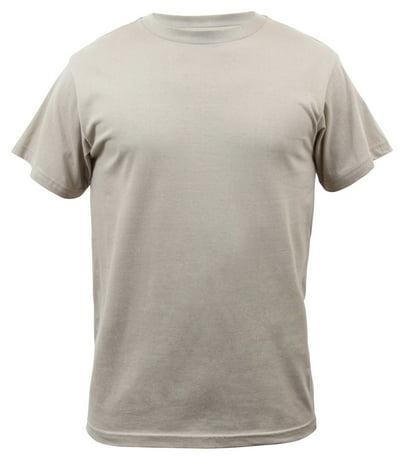 Rothco Solid Color 100 Cotton T Shirt