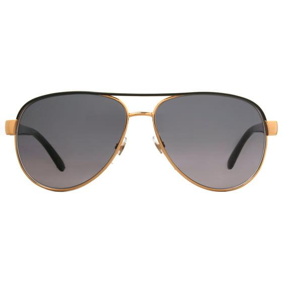 c3273e429ce Gucci - Gucci GG 4239 S DYO EU Gold Black Gray Lens Women s Aviator ...