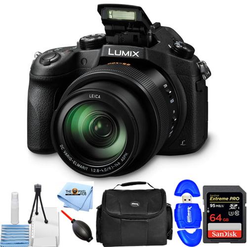Panasonic Lumix DMC-FZ1000 4K Digital Camera STARTER BUNDLE