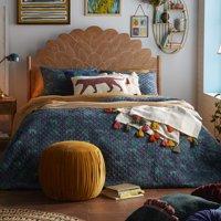 Jungle Leopard Quilt Set by Drew Barrymore Flower Home