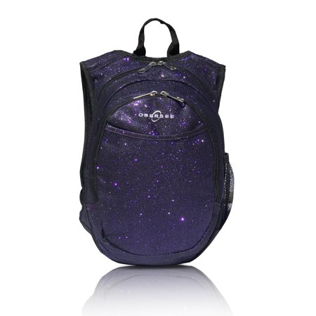 3a8aa63a41b8 Obersee - Obersee Pre-School Sparkle Backpack with Integrated Snack Cooler  - Purple - Walmart.com