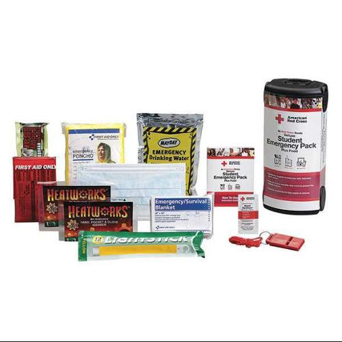 FIRST AID ONLY RC-608GR First Aid Kit,Plastic,Clear,29Components G1662090