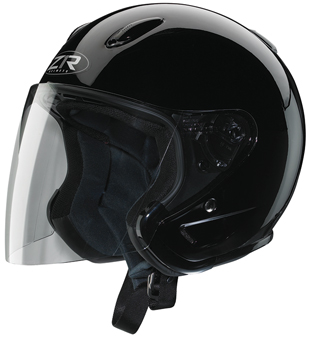 Z1R Ace Solid Helmet Black XS