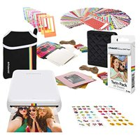 Polaroid Zip Wireless Photo Printer (White) Starter Bundle with Neoprene Case