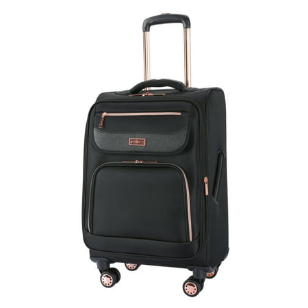 "Sophistique by TPRC 20"" Rolling Expandable Upright – Black w/ Rose gold"