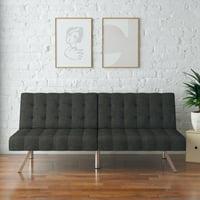 Mainstays Morgan Futon, Grey Linen