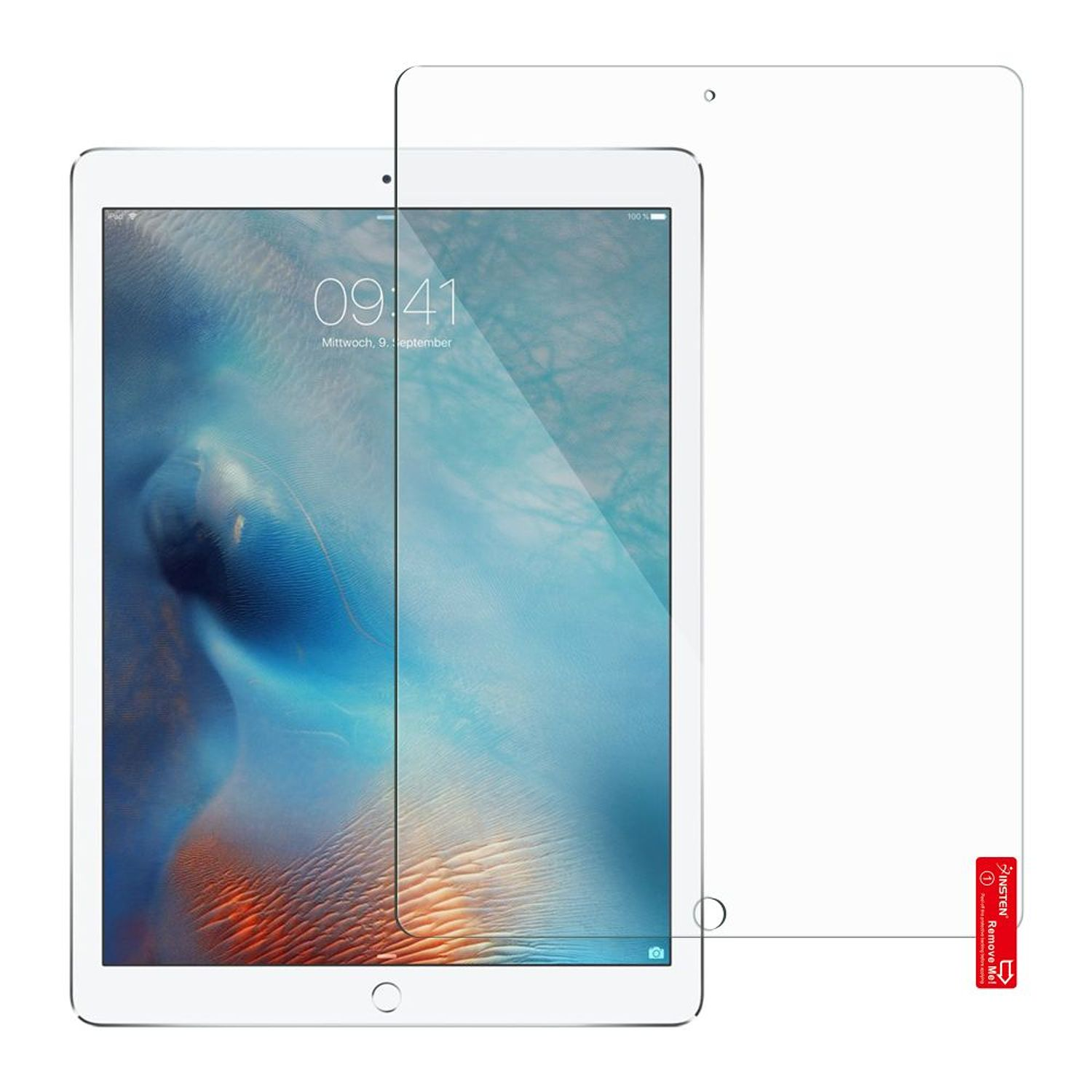 "iPad Pro 10.5 Screen Protector, by Insten Clear Fully Protect Screen Protector LCD Film For Apple iPad Pro 10.5"" (Anti-Scratch, Bubble-free)"