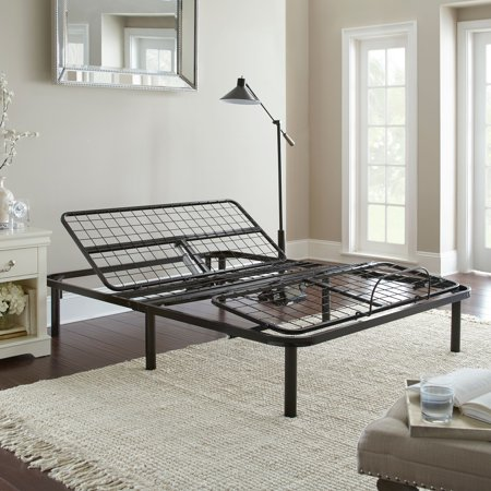 Premier Silver Series Adjustable Flex Metal Platform Foundation Base Bed Frame with Wired Remote, Multiple sizes