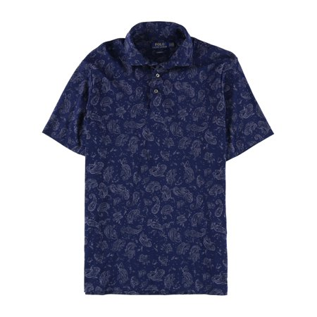 Ralph Lauren Halloween Polo (Ralph Lauren Mens Soft Touch Paisley Rugby Polo)